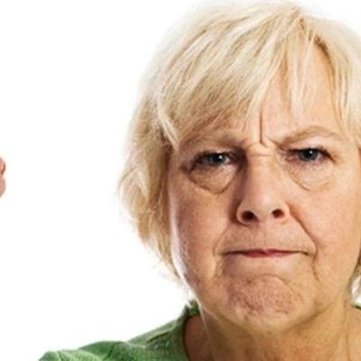 Агрессия у стариков